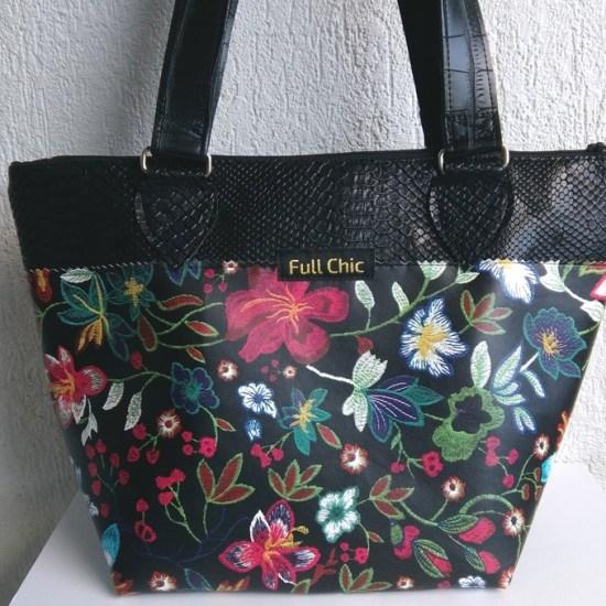 sac fleurs