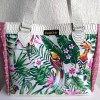 sac cabas tropical rose