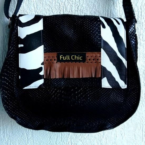besace ethnique zebre