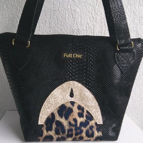 sac arcada leopard doré
