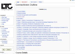 Connectivism Course Wiki