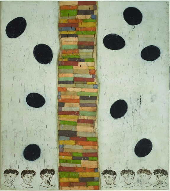 Museum of the African Diaspora :: Gone, 2005 by Squeak Carnwath