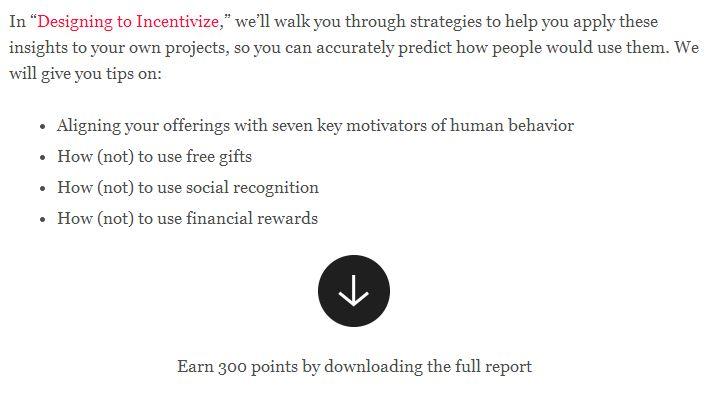 incentivize
