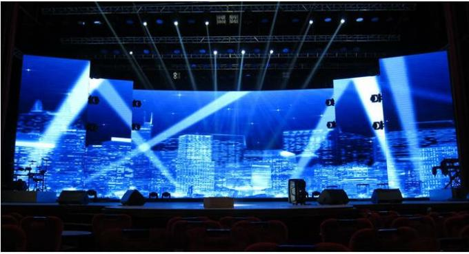 Foldable Soft Flexible LED Curtain  Concert LED Transparent Flexible Display SMD 5050 HD