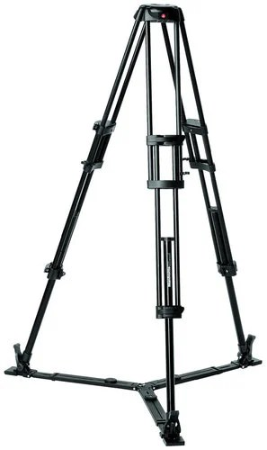Manfrotto 546GB Aluminum Pro Video Tripod With Ground