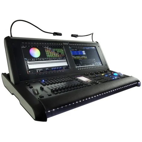 high end systems hog 4 lighting console with 16 universes of output processing