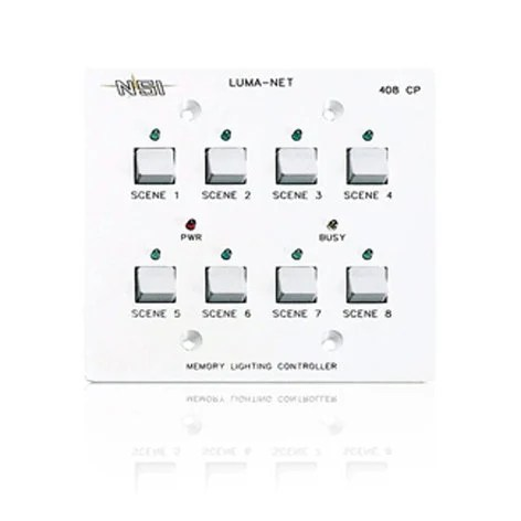 Leviton N0408-CP0 Remote Memory Control Panel (with 8