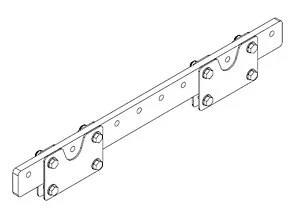 QSC EB3082 Extension Bar For Use With 2 AF3082-S Array