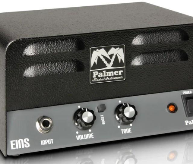 Palmer Peins W Tube Guitar Amplifier Head Peins