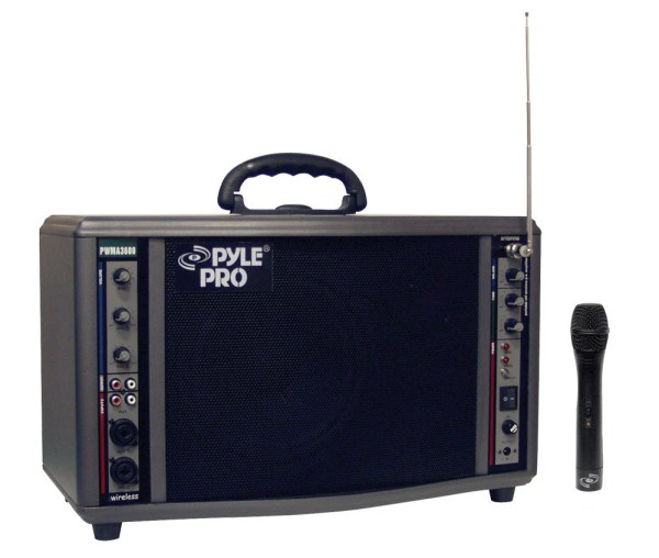 Pyle Pro Pwma3600 200w Portable Wireless Pa System Full Compass