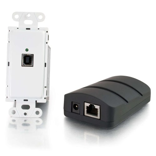 small resolution of cables to go 53878 trulink usb 2 0 over cat5 superbooster wall plate transmitter to dongle receiver kit full compass systems