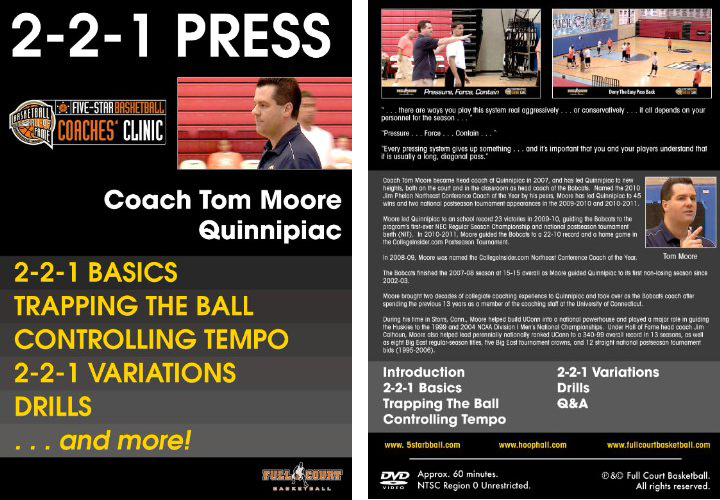 2-2-1-Press with Coach Tom Moore