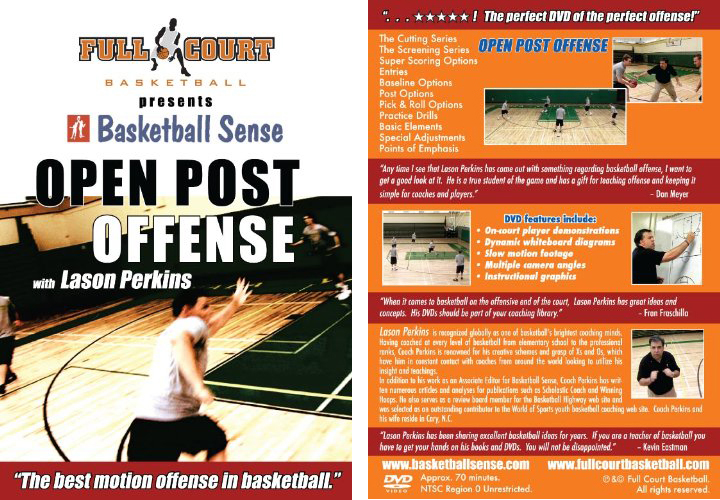 Open Post Offense with Coach Lason Perkins