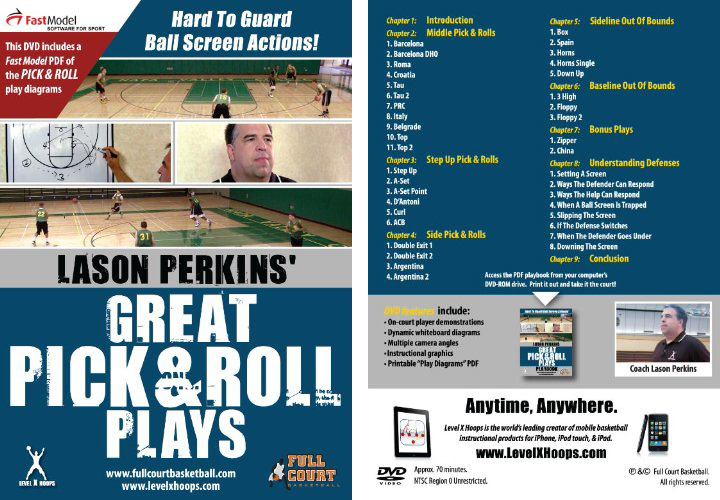 Great Pick and Roll Plays with Coach Lason Perkins