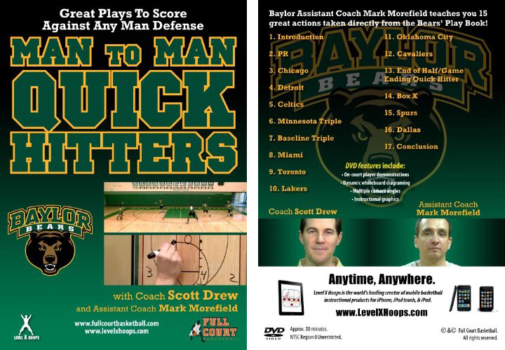 Man to Man Quick Hitters with Coach Scott Drew