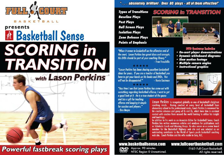 Scoring in Transition with Coach Lason Perkins