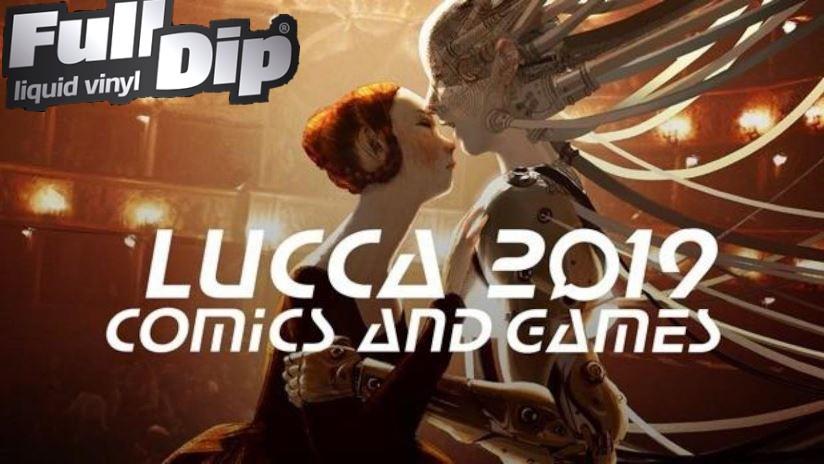 Full Dip è presente al Lucca Comics 2019