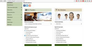 CDC screenshot