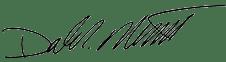 Dale Merrill signature