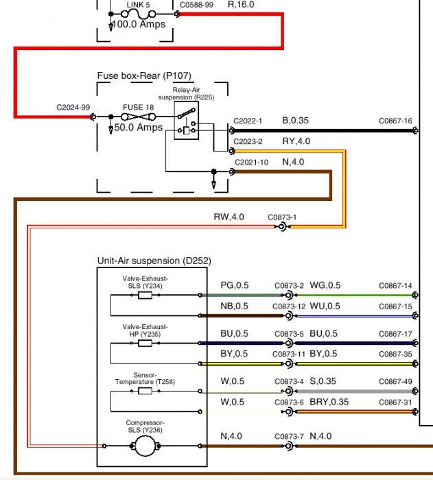 l322 air suspension wiring diagram 1997 volkswagen jetta radio land rover 8 3 kenmo lp de images gallery