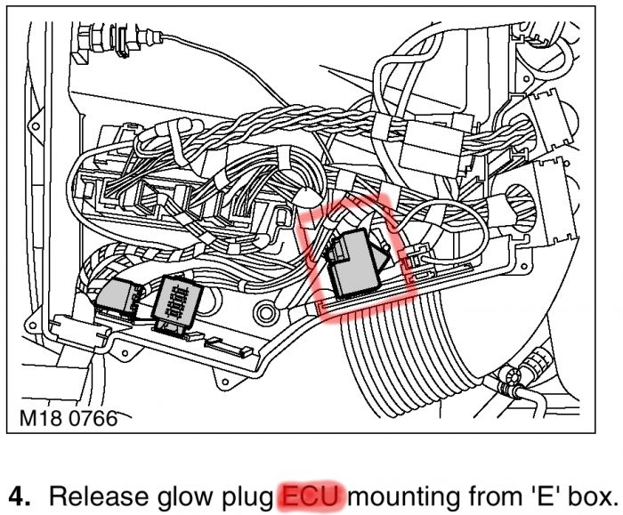 Range Rover L322 Ecu Location