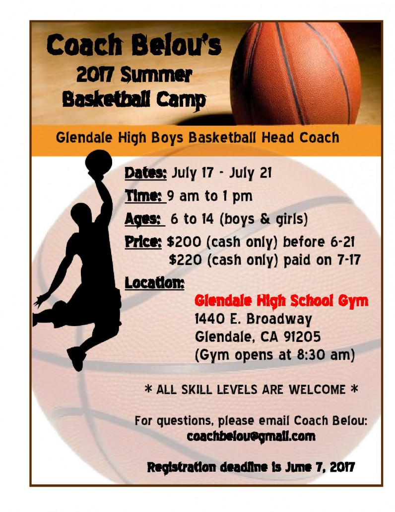 Basketball Camp Flyer For Youth. Basketball Camp Flyer Template Terri  Torigram