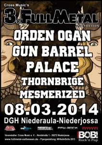 FULL METAL Osthessen 2014 Flyer