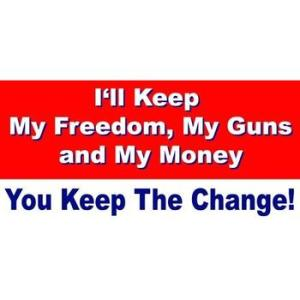 you can keep the change