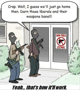 funny-pictures-gun-free-zone