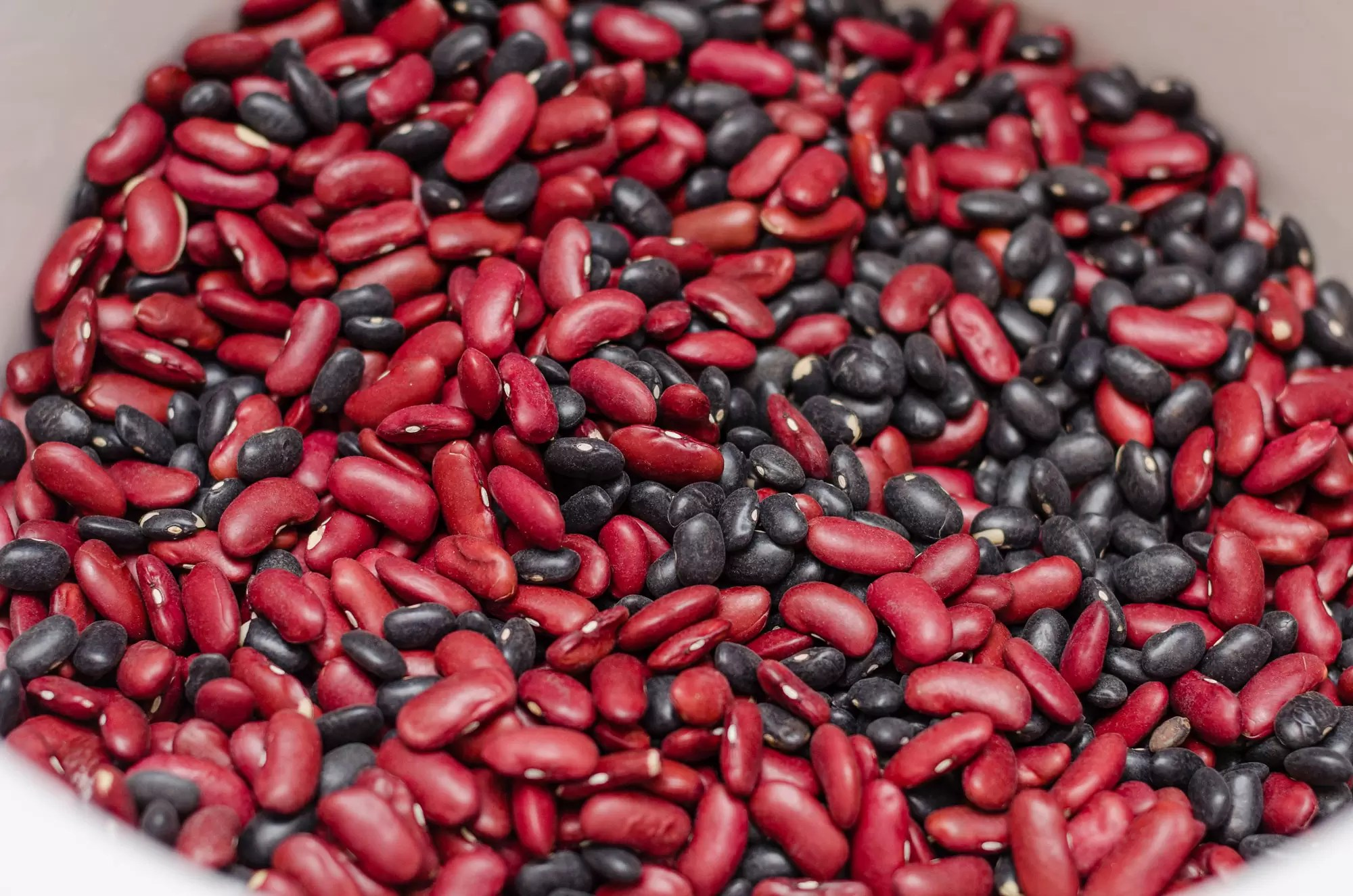 Black And Kidney Beans