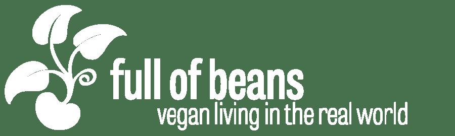 Full of Beans logo - vegan living in the real world