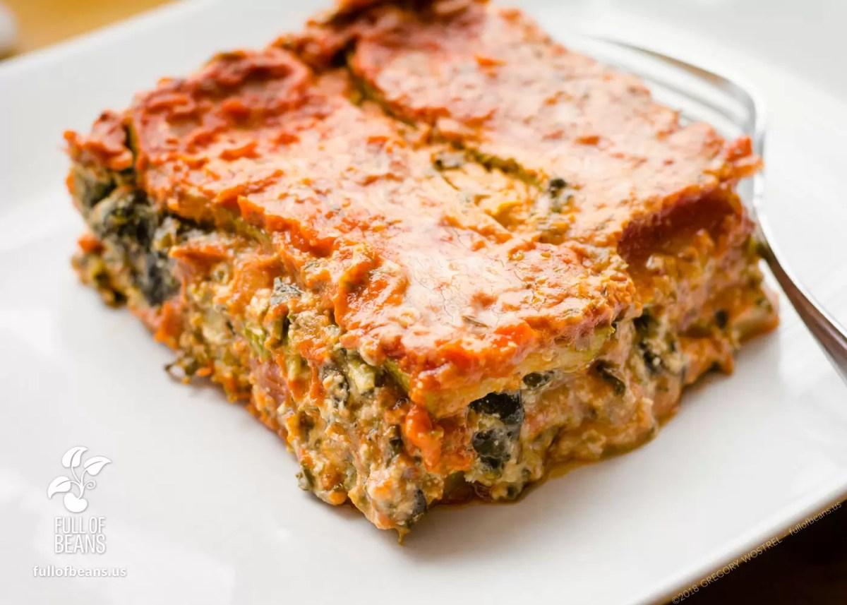 Vegan Gluten-Free Lasagna (Lasagne)