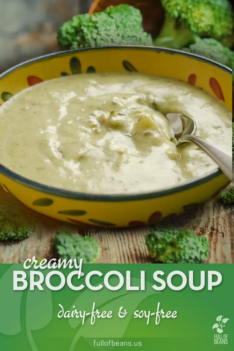 Dairy-free Creamy Broccoli Soup