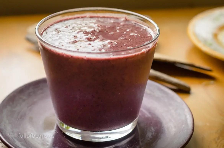 Antioxidant Blueberry Smoothie