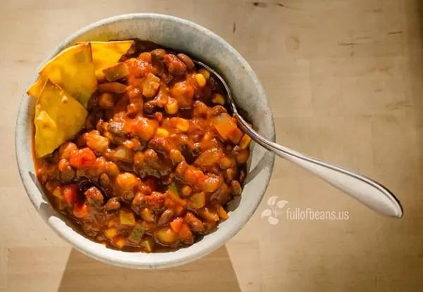 Vegan Cookout food: Killer Vegan Chili!