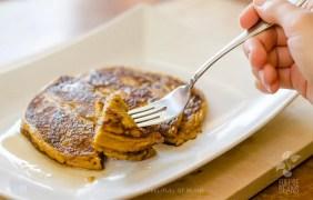 Gluten Free Oil Free Vegan Pumpkin Pancakes