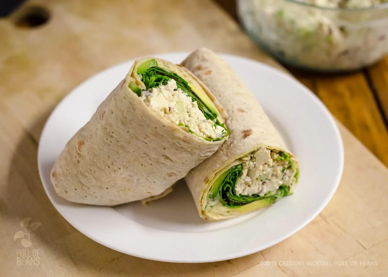 Tofu Dill Salad - Fullofbeans.us