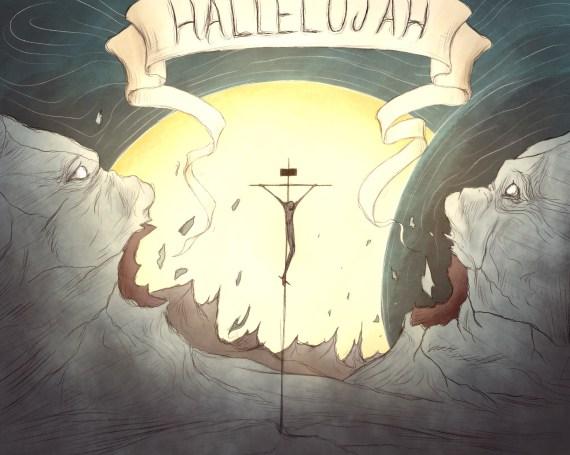 Isaiah 44:23 + Matthew 27:51