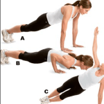 T-Rotation with Push Up