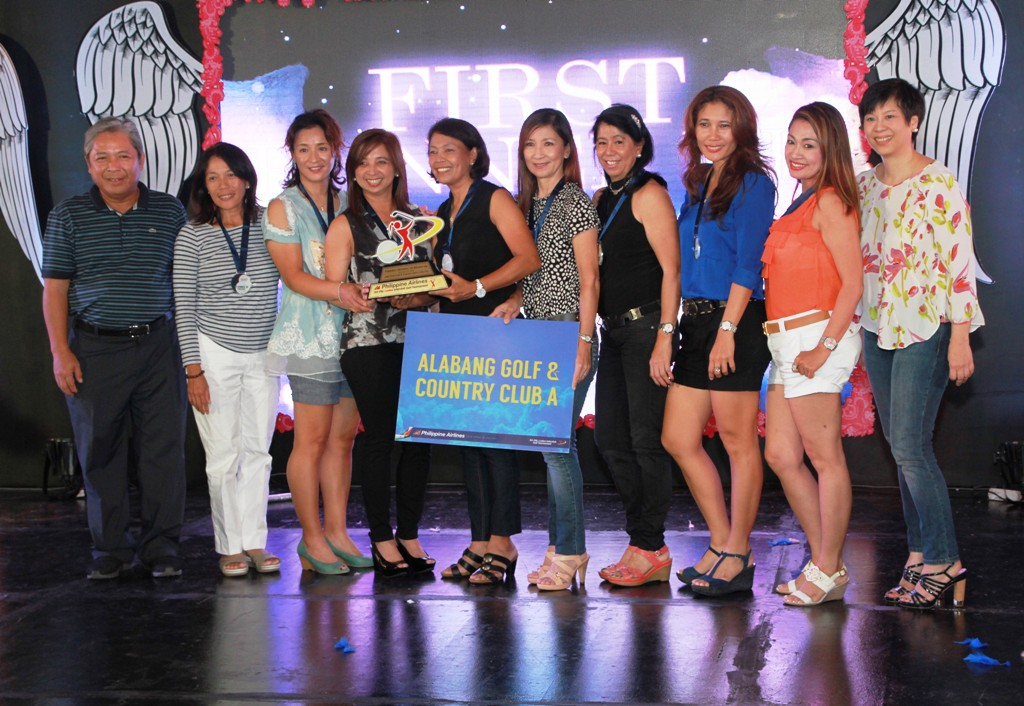 Alabang Country Club finished as 1st runner-up of the Founders Division.