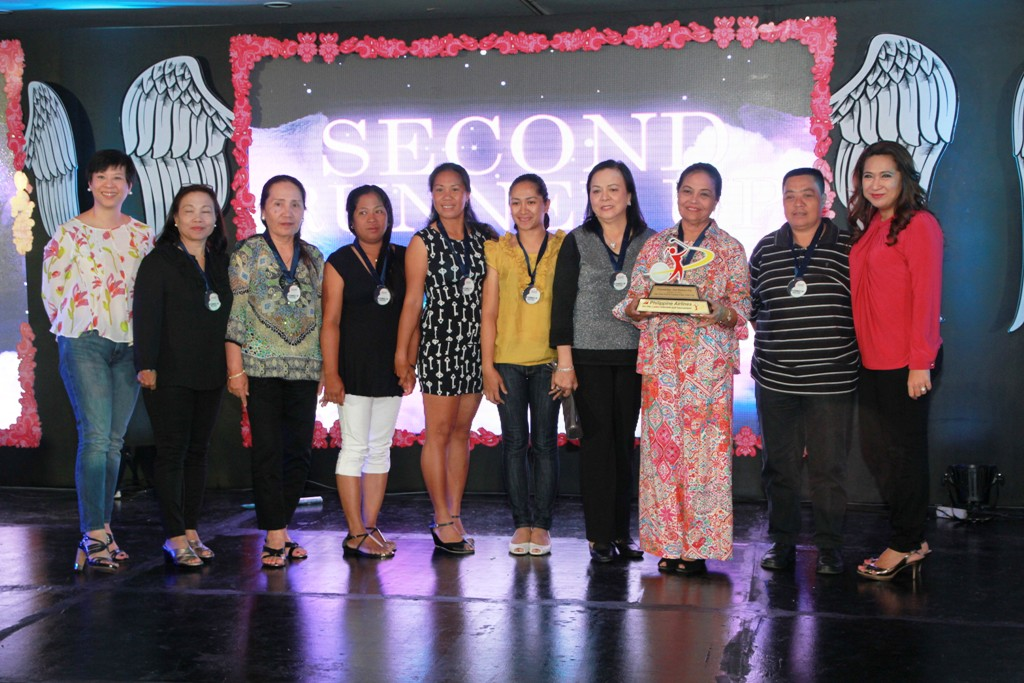 Camp Aguinaldo finished as 2nd runner-up of the Friendship Division.