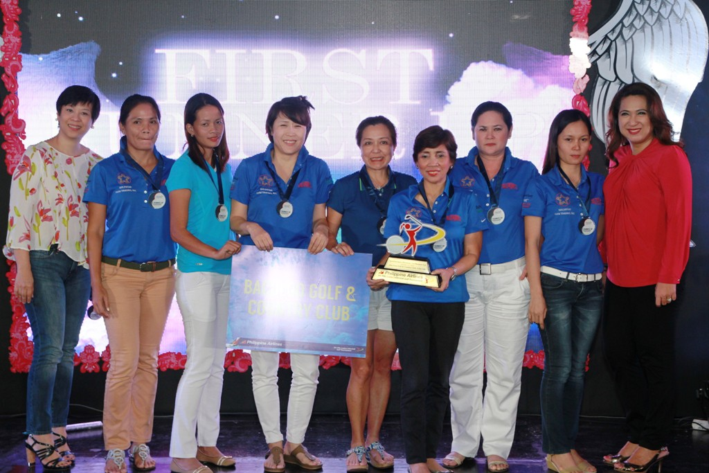 Bacolod Golf Club took the 1st runner-up honors of the Sportswriters Division.