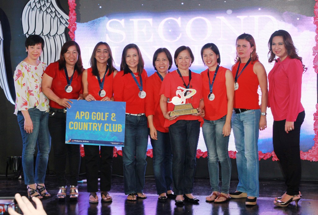 Apo Golf of Davao was 2nd runner-up of the Sportswriters Division.