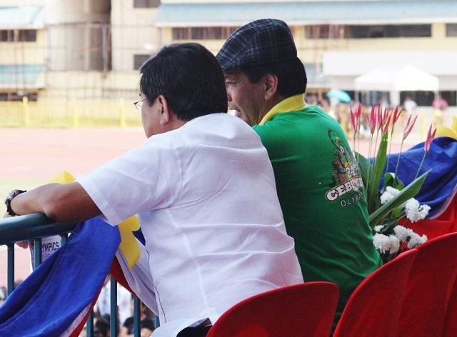 Cebu City Mayor Michael Rama and Vice Mayor Edgardo Labella