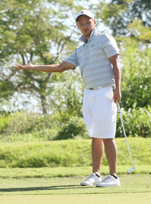 Carlos snatches lead despite 74 as Hiew fades in PH Amateur