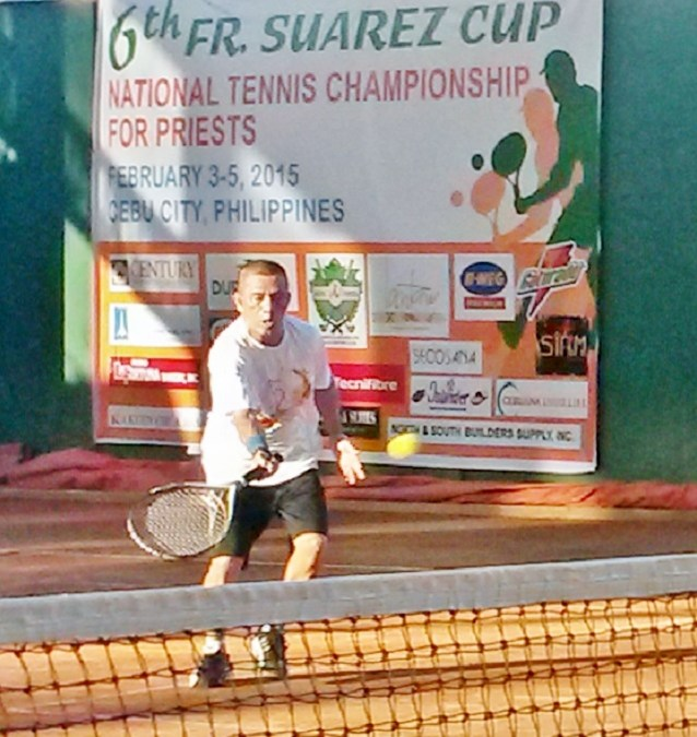 Cebu's Msgr. Dosado Clinches 56 & Above Title of 6th Fr. Suarez Cup National Tennis Championship for Priest