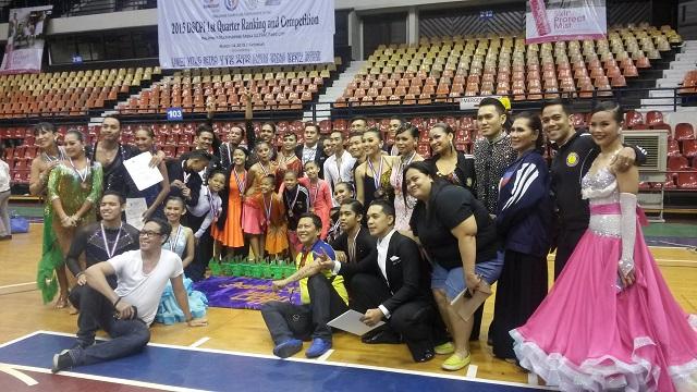 Dancesports Team Cebu City Rules DSCPI's 1st Quarterly Ranking in Metro Manila