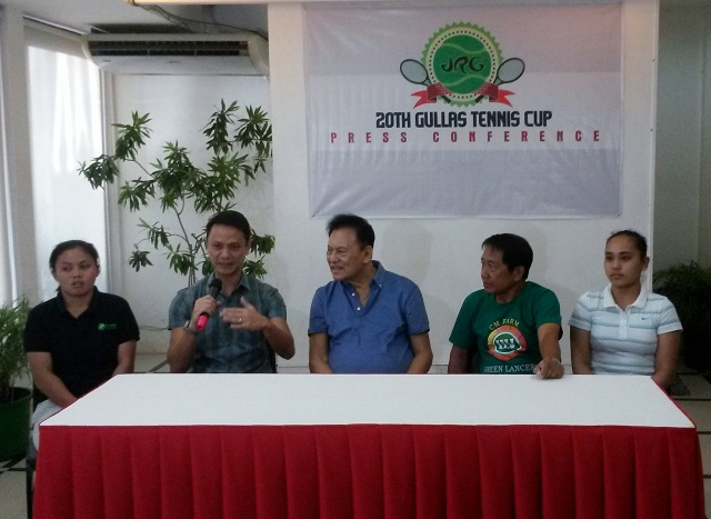 JRG 20th Gullas Tennis Cup Unravels Today at CitiGreen, Alta Vista