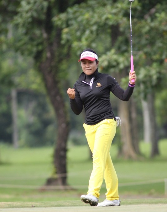 Chamchoi sets LPGT Luisita pace with 72