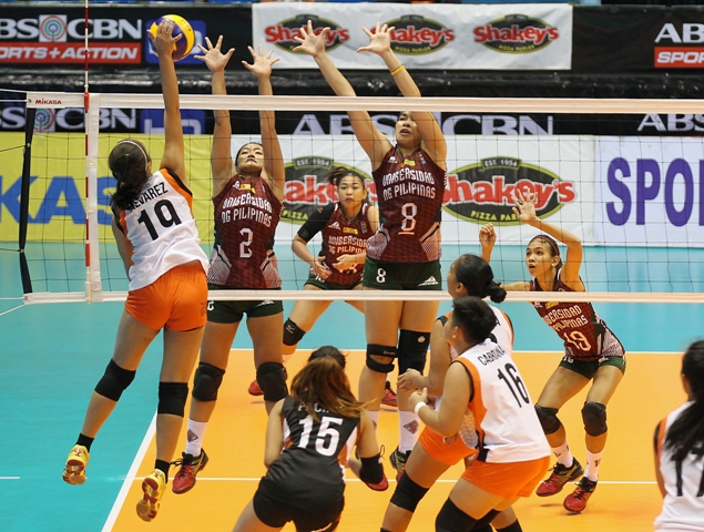 Lady Maroons down Oragons, stay in race
